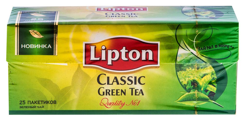 Чай зел grn tea clas 24x25пx1.7г