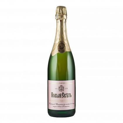 """""""Новый свет"""" Российское шампанское выдержанное полусладкое розовое"""
