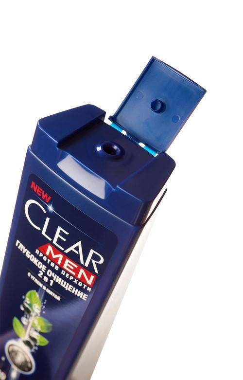 """отзыв Шампунь для непослушных волос и сухой проблемной кожи головы """"CLEAR VITA ABE MEN"""" Против перхоти, 400мл"""