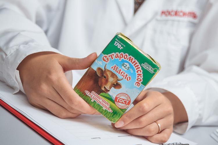 """Сливочное масло """"Староминское"""" Традиционное 82,5%"""