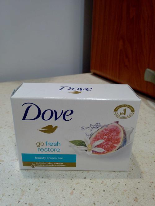 цена Крем-мыло Dove Инжир и лепестки апельсина