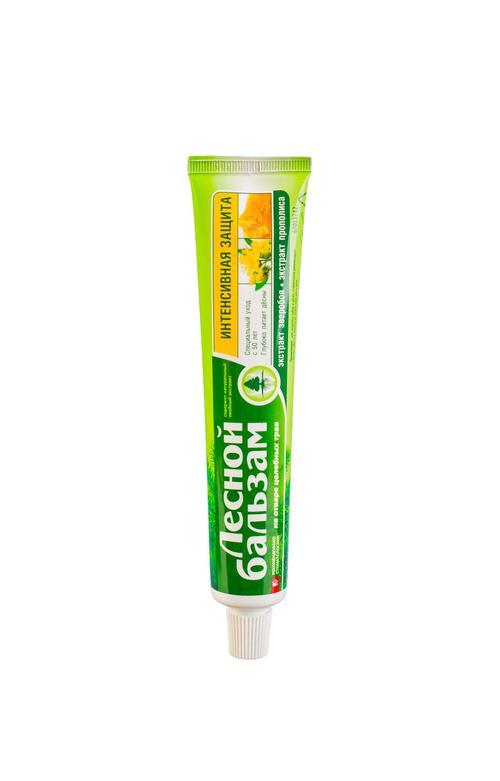 описание Лечебно-профилактическая зубная паста с экстрактами прополиса и зверобоя на отваре трав