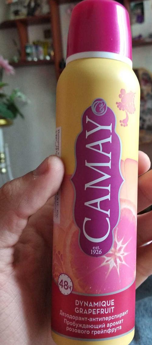 стоимость Дезодорант-спрей Camay Dynamique Grapefruit Динамик (150 мл)