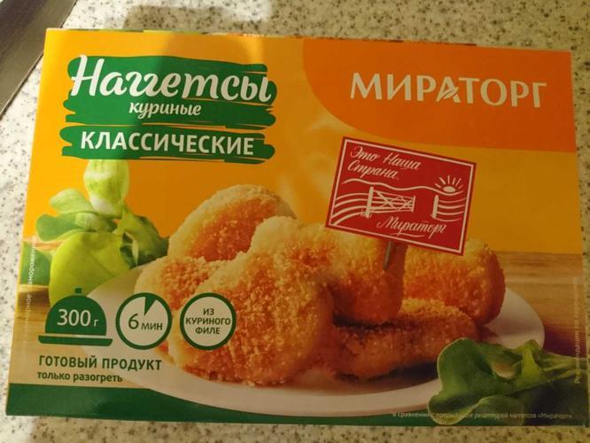 """отзыв Наггетсы """"Мираторг"""" куриные"""