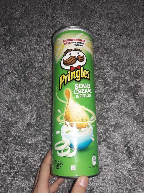фото9 Чипсы Pringles со вкусом сметаны и лука, 165гр.
