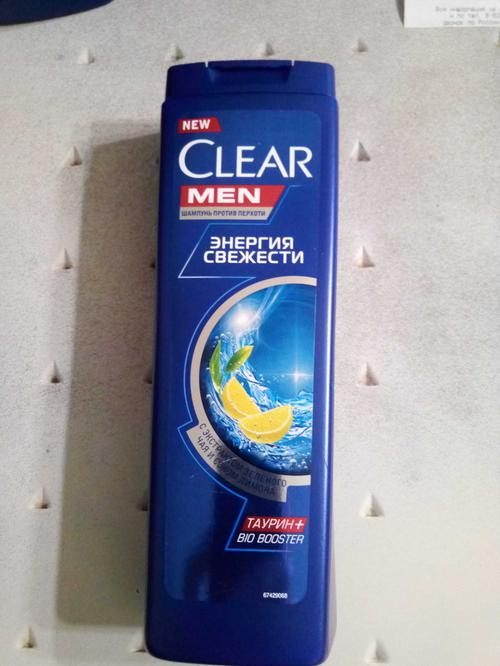 фото2 Шампунь Для мужчин ТМ Clear vita ABE - Энергия свежести 400мл Пласт. пл.