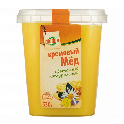 Крем-мёд натуральный цветочный