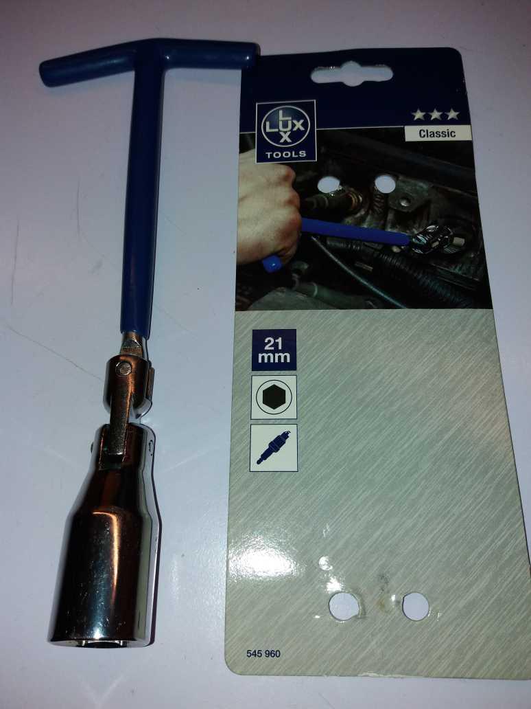 отзыв Ключ свечной Basic 21мм
