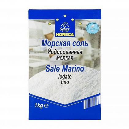 Морская соль, йодированная поваренная пищевая выварочна
