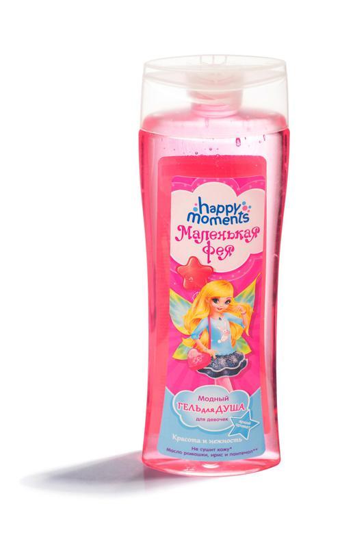 Модный гель для душа для девочек маленькая фея