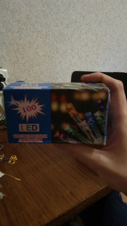 """""""100 LED светодиодных лампочек"""""""