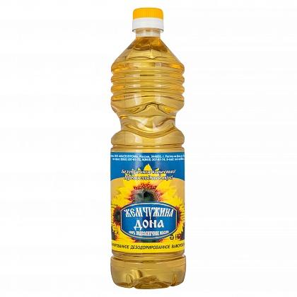 100% подсолнечное масло рафинированное дезодорированное вымороженное