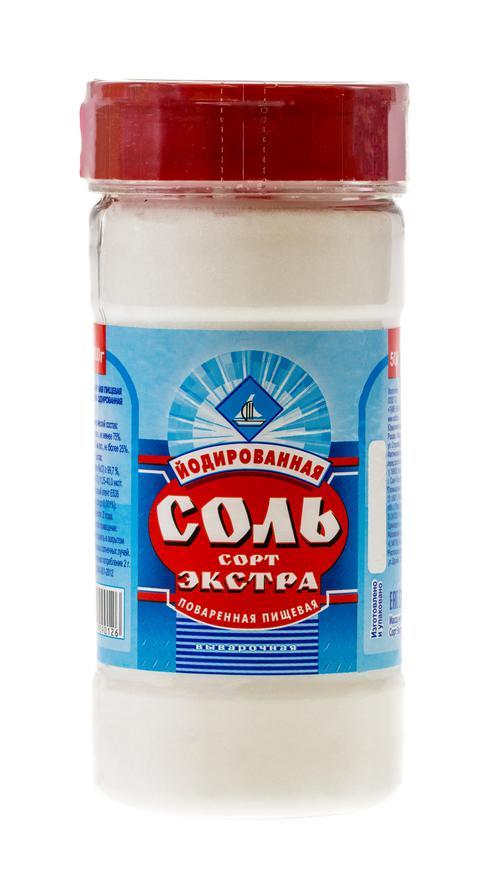 описание Соль поваренная пищевая йодированная выварочная, сорт «Экстра»