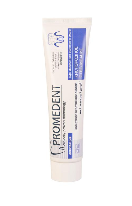 """стоимость 32 Бионорма Promedent зубная паста """"Кислородное отбеливание"""",  90 мл"""