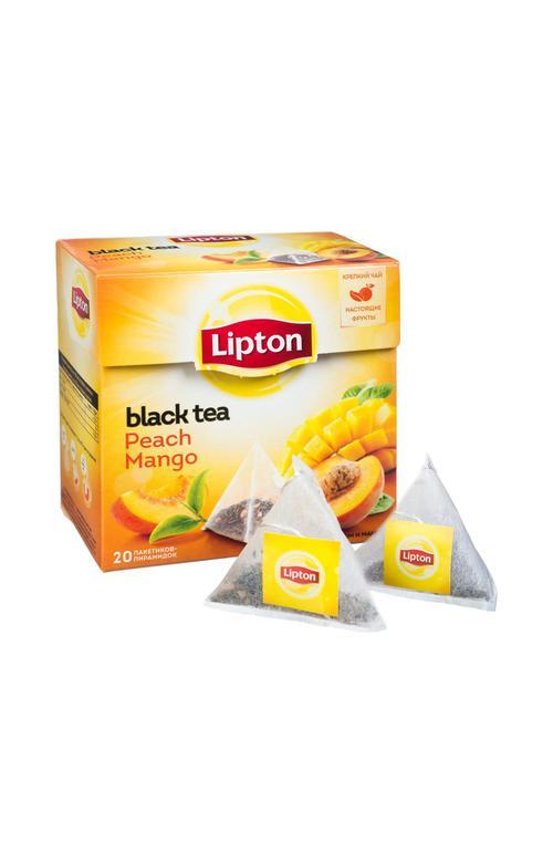 отзыв Чай черный Lipton Peach Mango байховый ароматизированный с кусочками фруктов, 20пак.