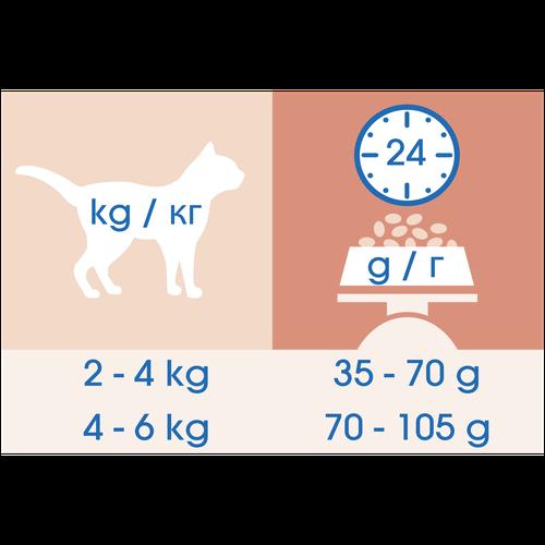 фото Корм сухой Cat Chow для взрослых кошек с чувствительной пищеварительной системой с лососем 0,4кг