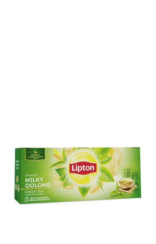 цена Чай зеленый Lipton Milky Oolong, 25пак.