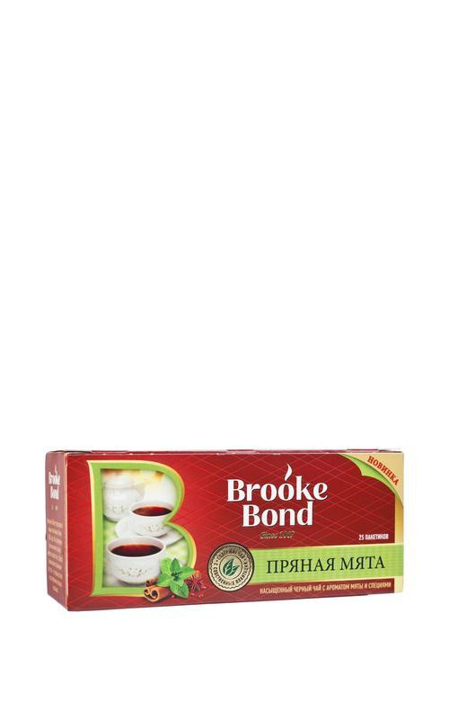 Чай черный байховый ароматизиров mint spices со специями 24х25пх1.5г