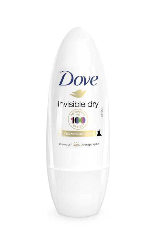"""отзыв Дезодорант шариковый Dove """"Невидимый"""", антиперспирант"""