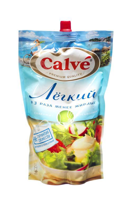описание Calve майонезный соус Calve легкий 800г 800г