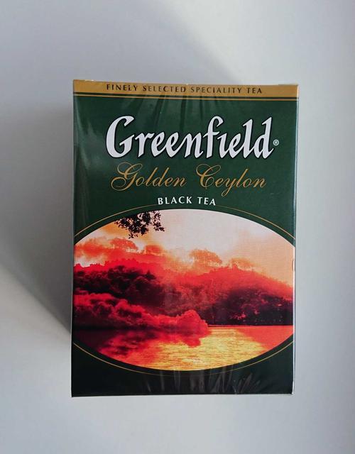 фото Чай Greenfield Golden Ceylon чёрный листовой цейлонский