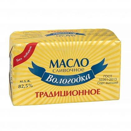 """Масло сливочное """"Вологодка"""". Традиционное"""
