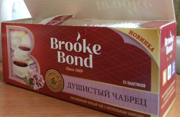 фото1 Чай Brooke Bond душистый чабрец