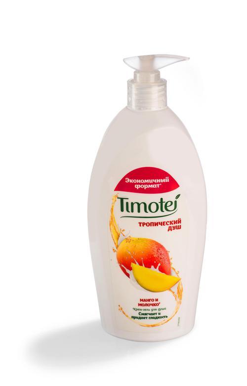 """Timotei """"Тропический душ"""" крем-гель для душа 250 мл"""