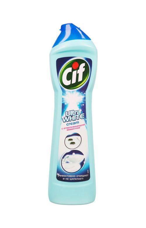 "отзыв Чистящее средство ""CIF"" крем ультра white 500 мл."