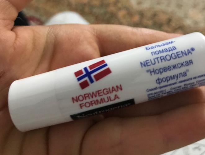 Бальзам-помада для губ Neutrogena Norwegian Formula 4.8г