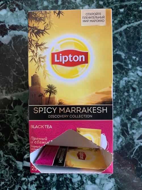стоимость Чай Lipton пряный и свежий