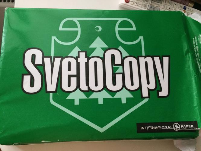 """описание Бумага """"SvetoCopy"""" белая А4 80гр/м2, 500 листов"""