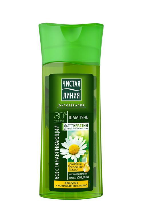 описание Шампунь, восстанавливающий на отваре целеб трав с экстрактом ромашки для сух и поврежд волос