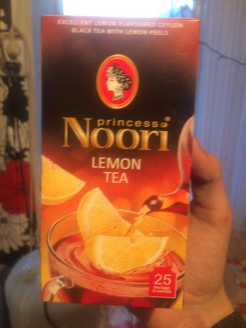 """фото3 Чай черный байховый цейлонский с цедрой и ароматом лимона """"Принцесса Нури"""", 37,5г."""