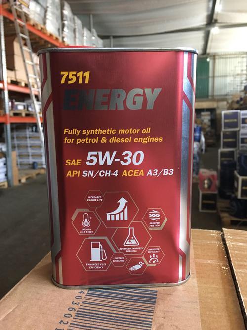 7511 Mannol Energy SAE 5W-30 (1L) metal