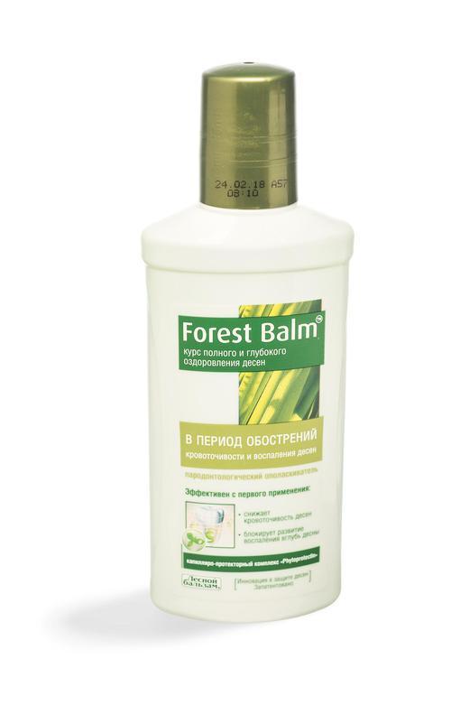 """отзыв Ополаскиватель """"forest balm"""" курс питания и восстановления десен"""