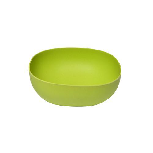 Миска 23см / 2,8л Зеленая (бамбуковое волокно)