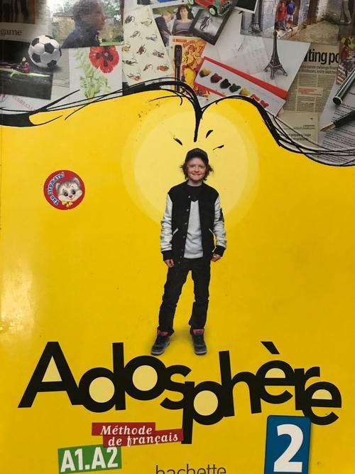 Adosphere 2 Podrecznik ucznia + CD