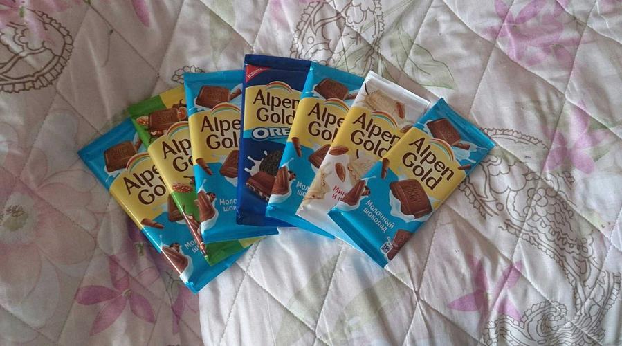 фото21 Шоколад Alpen Gold молочный, 90гр.