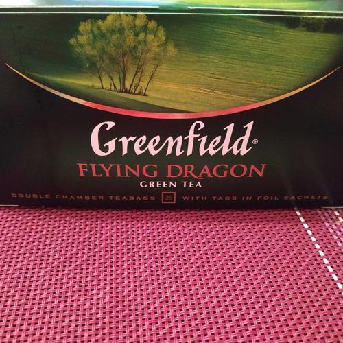 цена Чай зеленый байховый Гринфилд Флаинг Драгон в пакетиках