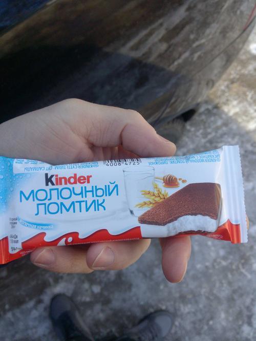 отзыв Бисквитное пирожное KINDER Молоко и Мед, 28г.