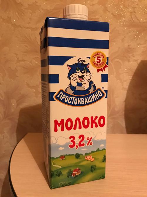 фото6 Молоко Простоквашино 3,2% ультрапастеризованное