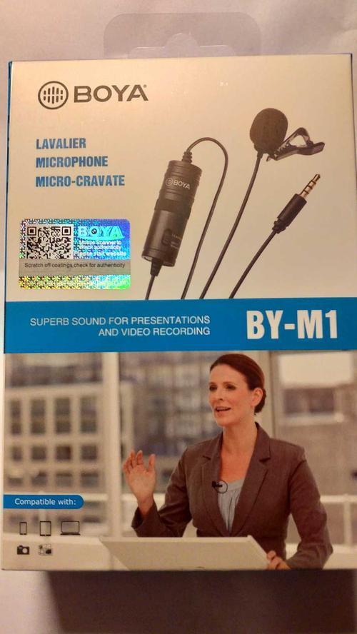 описание Микрофон BY-M1