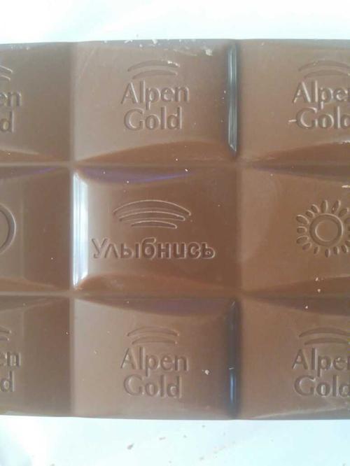 фото19 Шоколад Alpen Gold молочный, 90гр.