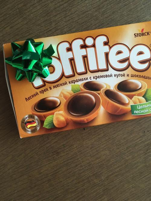 """отзыв Конфеты """"Тоффифи"""" (Toffifee) Лесной Орех в карамельной чашечке с нугой и шоколадом, 125гр."""