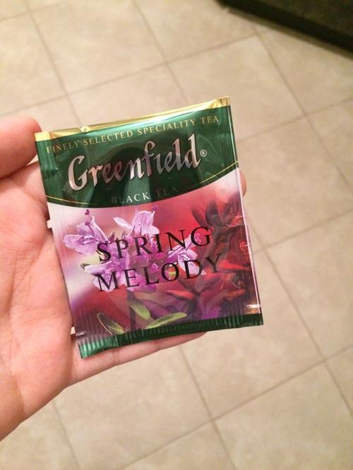фото8 Чай черный байховый Гринфилд Спринг Мелоди в пакетиках