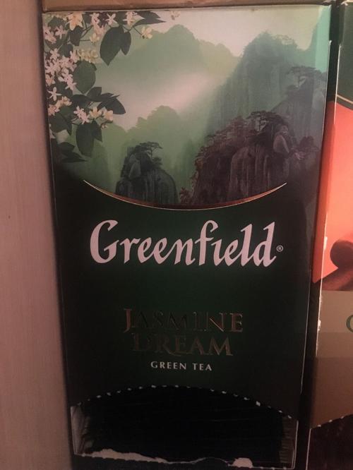 отзыв Чай зеленый байховый Гринфилд Жасмин Дрим в пакетиках