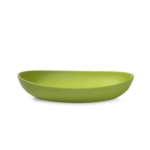 Тарелка 26см Глубокая из бамбукового волокна Зеленая