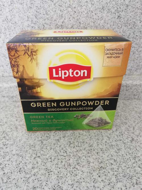 фото Чай зеленый Lipton Green Gunpowder байховый ароматизированный