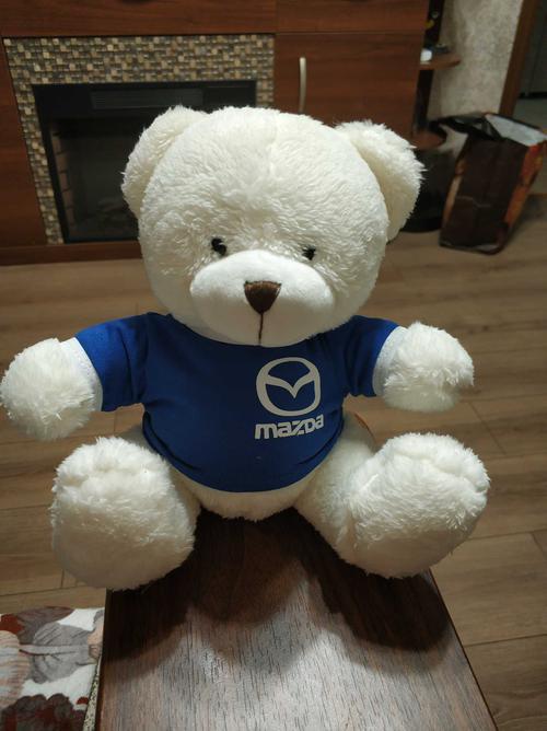 Медвежонок плюшевый с логотипом Mazda (арт. TD709)